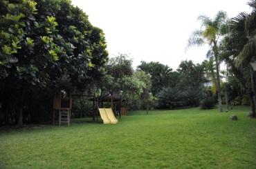Jardín del edificio